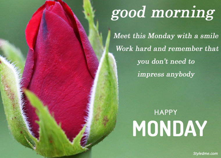 Good morning happy Monday quotes