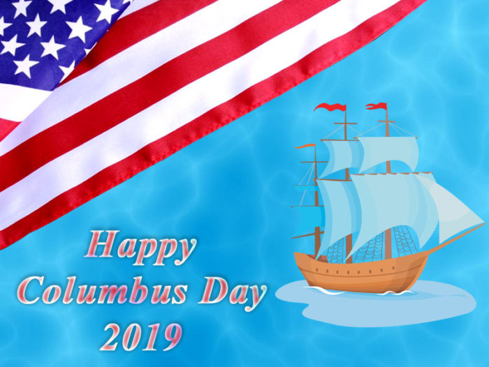 Happy Columbus Day 2019 images