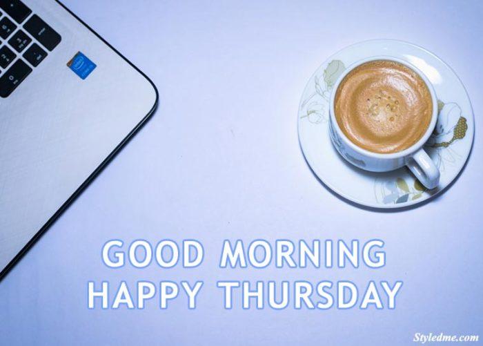 happy thursday coffee image