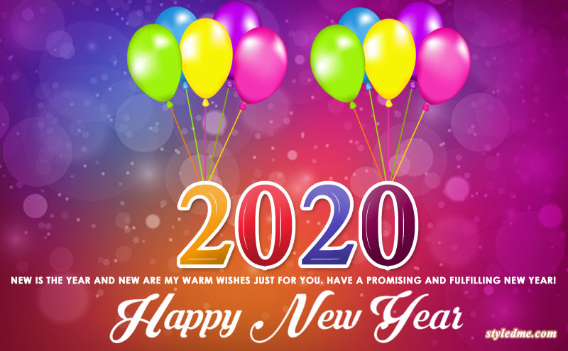 new year 2020 greetings download