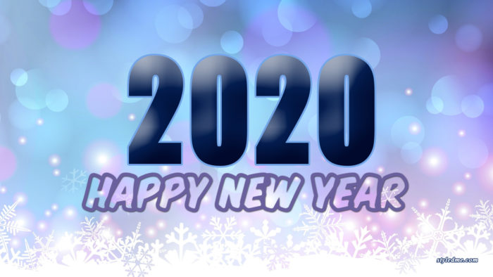 happy 2020 wallpaper free
