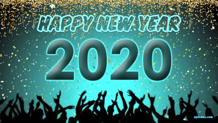 Happy New Year 2020 wallpaper HD download free