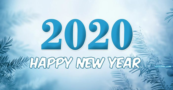 New year 2020 printable images or banner background for party