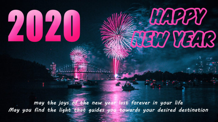 HD 2020 wallpaper download with wishes