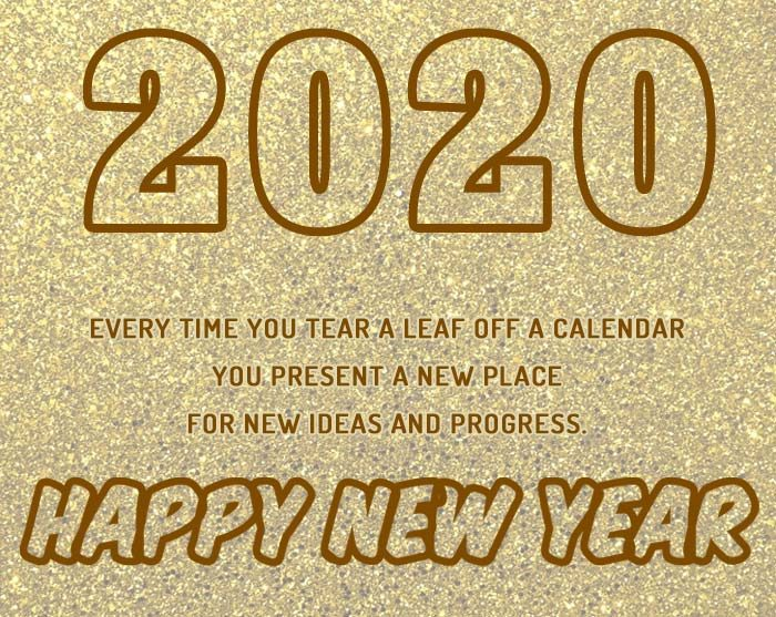 New Year 2020 wishes