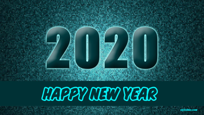 New year 2020 wallpaper