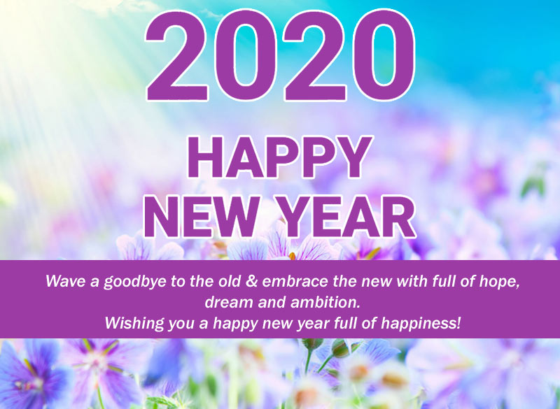 New Year 2020 wishes images
