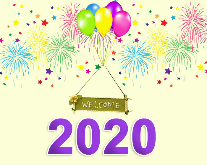 Welcome 2020 photo