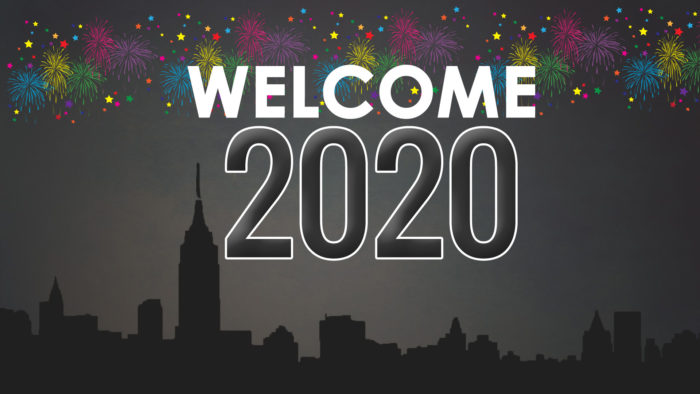 Welcome 2020 wallpaper HD free download
