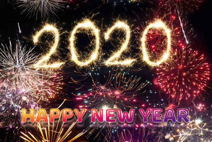 New Year's Day 2020 images