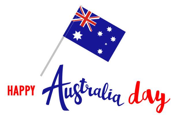 Australia day 2020 clipart