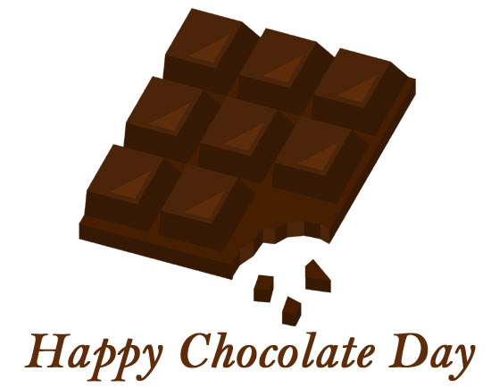 chocolate day images clipart 2020