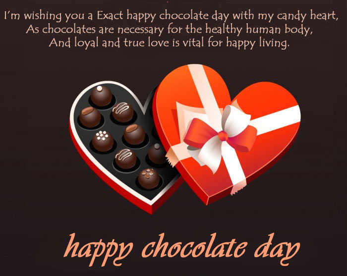 Happy Chocolate Day 2020 images