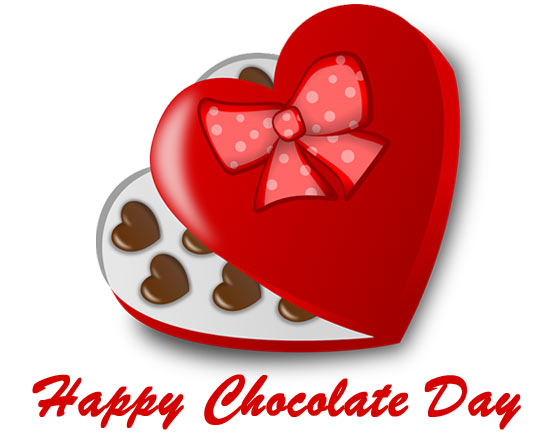 happy chocolate day clipart