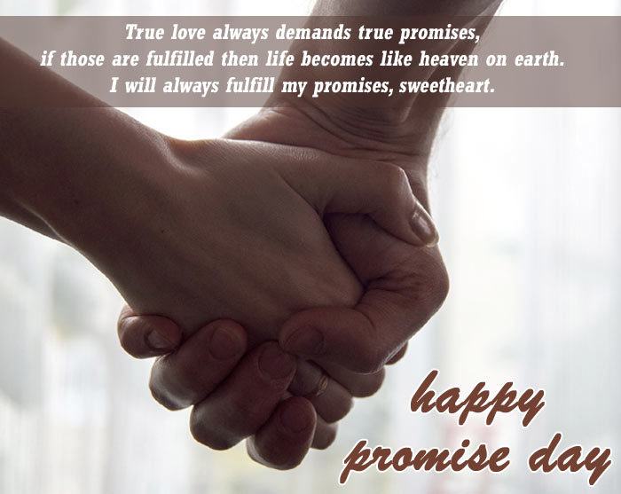 Happy Promise day 2020