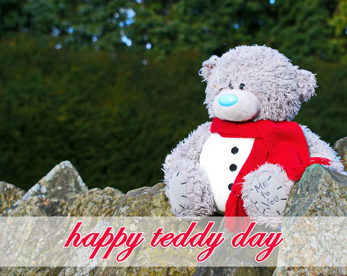 happy Teddy Day 2020 photo for love couple