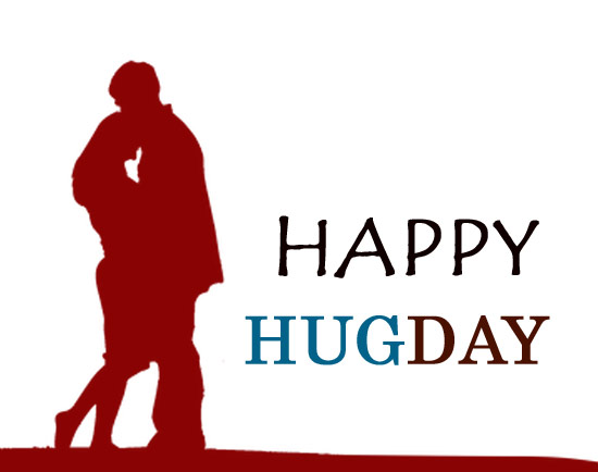 Hug day clipart images