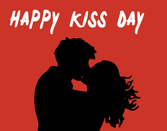 kiss day 2020 clipart