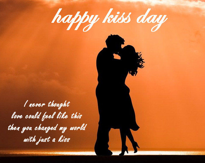 Happy kiss day 2020 images