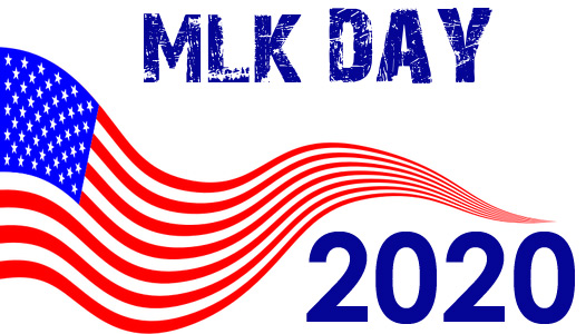 martin luther king day 2020 clip art