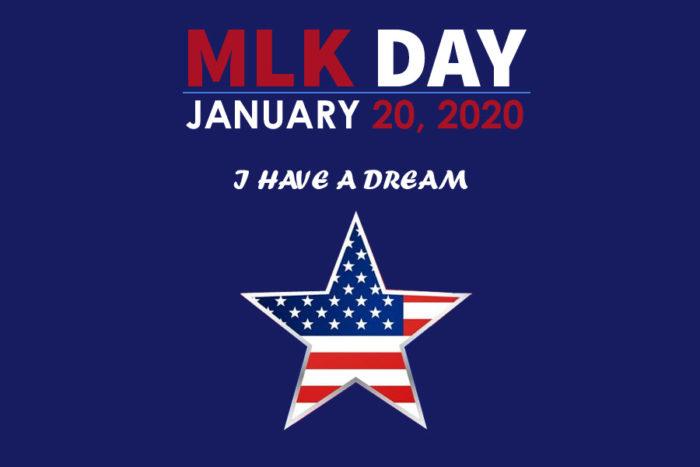 MLK day 2020 poster