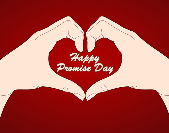 Promise day clipart