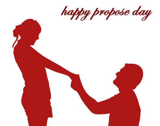 happy Propose day Clip art couple images