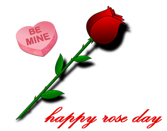 Rose day 2020 clipart
