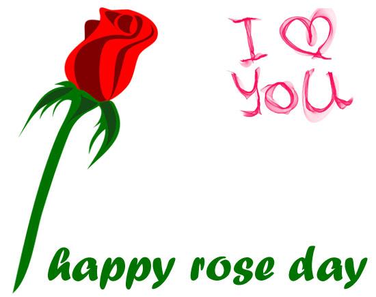 Rose day clip art
