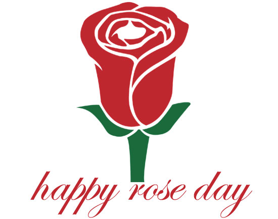 Rose day clipart 2021