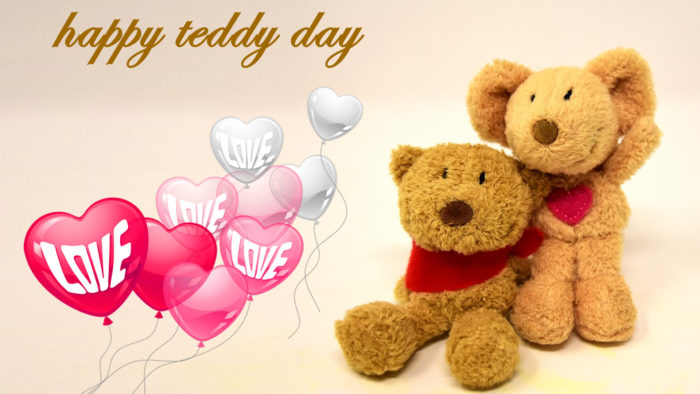 teddy bear valentines day wallpaper