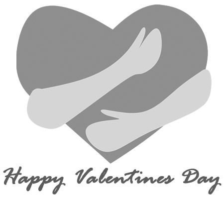 valentine clipart black and white heart free clip art