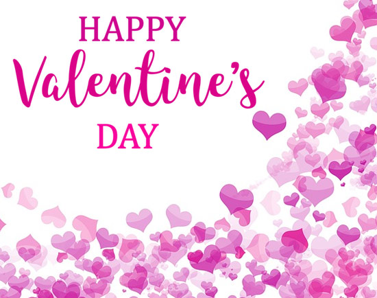 valentine day love hearts clipart images for friends
