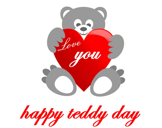 valentines day teddy bear clipart