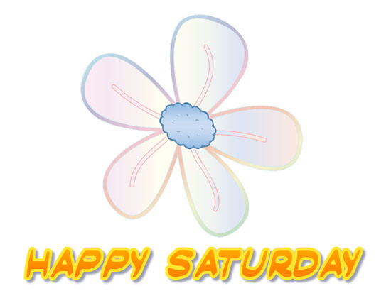 Happy Saturday clipart