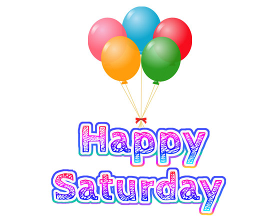Happy Saturday clipart free