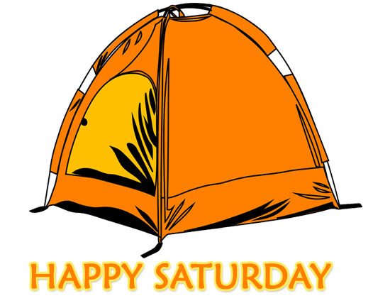happy saturday morning clipart