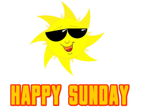 happy sunday clipart images