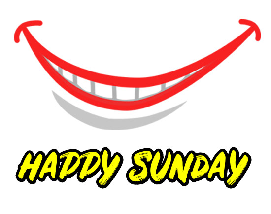 Happy Sunday clipart