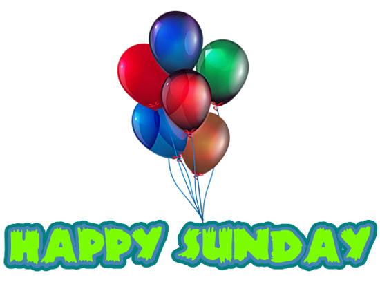 happy sunday free clip art