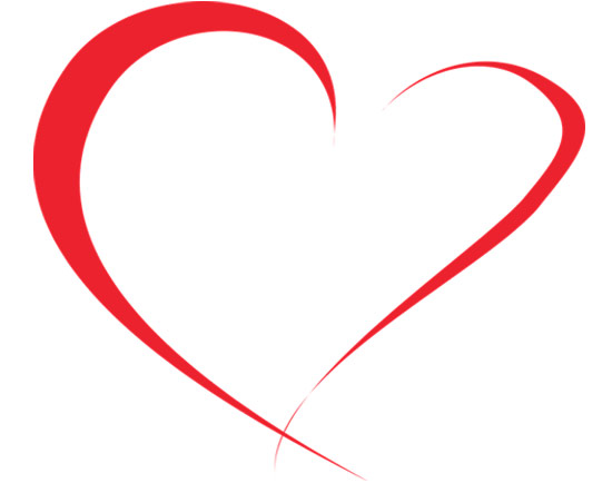 heart clipart outline