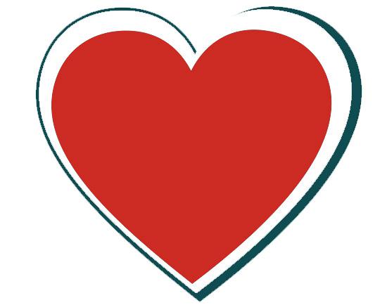 heart clipart shape clip art