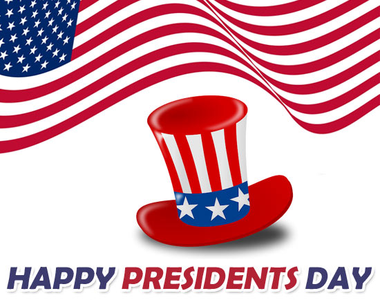 Presidents day 2020 clipart