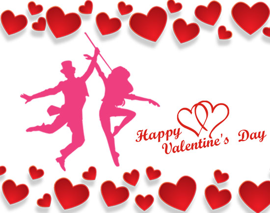 valentines day party clip art hearts