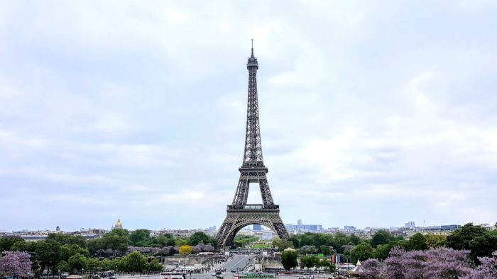 eiffel tower zoom virtual background images