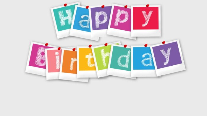 happy birthday zoom background free download pics