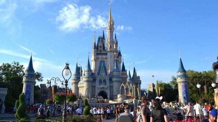 disneyland castle zoom virtual meeting backgrounds free