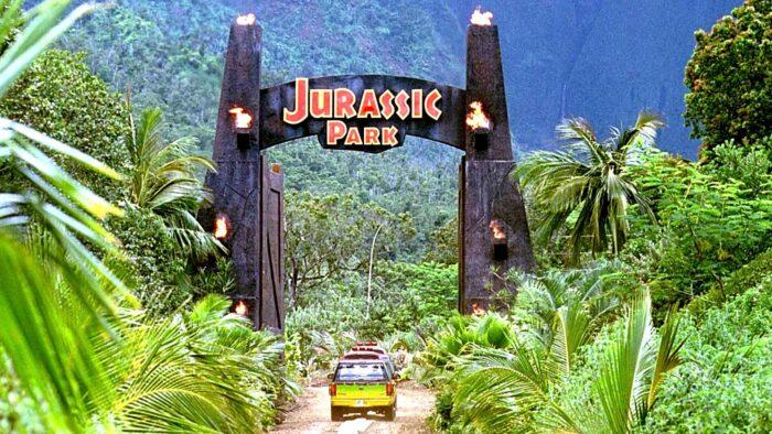 Jurassic park Zoom background