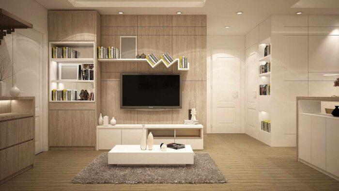 Living room Zoom background