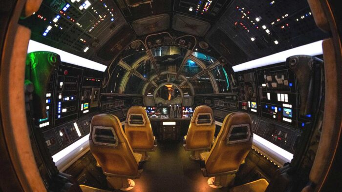 millennium falcon inside interior zoom virtual background
